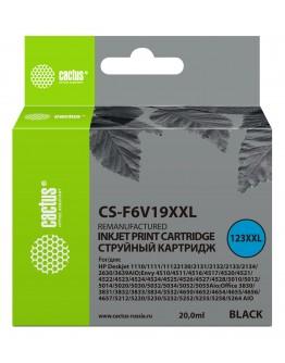Картридж струйный Cactus CS-F6V19XXL черный (1000стр.) (20мл) для HP DeskJet 1110/1111/1112/2130