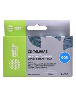 Картридж струйный Cactus №903 CS-T6L99AE черный (300стр.) для HP OJP 6950/6960/6970