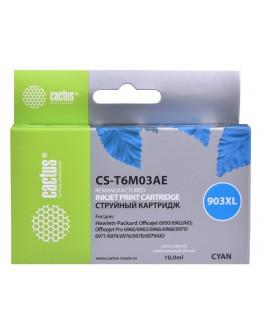 Картридж струйный Cactus №903XL CS-T6M03AE голубой (825стр.) для HP OJP 6950/6960/6970