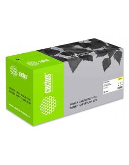Картридж лазерный Cactus CS-CE262AV желтый (11000стр.) для HP LJ CP4025/CP4525/CM4540