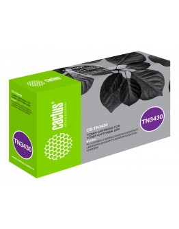 Картридж лазерный Cactus CS-TN3430 черный (3000стр.) для Brother HL L5000/5100/5200/6250/6300/6400