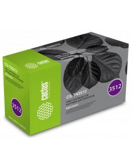 Картридж лазерный Cactus CS-TN3512 черный (12000стр.) для Brother DCP L6600DWHL/L6250DNHL/ L6300DWHL/L6400DWHL/ L6400DWTMFC/L6800DWMFC/ L6800DWTMFC/L6900DWMFC/ L6900DWT