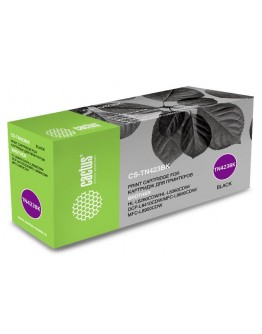Картридж лазерный Cactus CS-TN423BK черный (6500стр.) для Brother DCP L8410CDW/HL L8260CDW/MFC L8690CDW