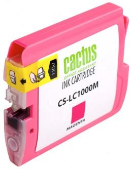Картридж струйный Cactus CS-LC1000M для Brother DCP 130C/ 330С, MFC-240C/ 5460CN, пурпурный