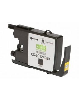 Картридж струйный Cactus CS-LC1240BK для Brother MFC-J6510/ 6910DW, черный, 24 мл.