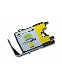 Картридж струйный Cactus CS-LC1240Y для Brother MFC-J6510/ 6910DW, желтый, 12 мл.