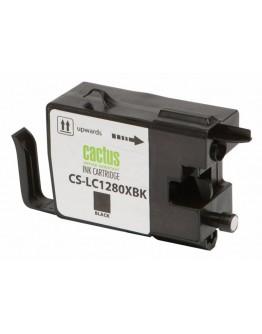 Картридж струйный Cactus CS-LC1280XBK для Brother MFC-J6510/ 6910DW, черный, 62 мл.