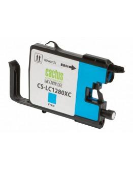 Картридж струйный Cactus CS-LC1280XC для Brother MFC-J6510/ 6910DW, голубой, 16,6 мл.