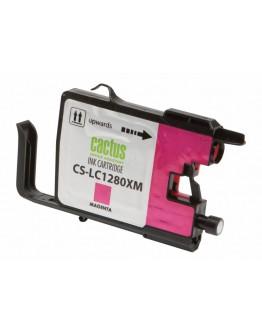 Картридж струйный Cactus CS-LC1280XM для Brother MFC-J6510/ 6910DW, пурпурный, 16,6 мл.