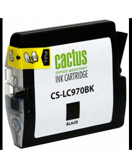 Картридж струйный Cactus CS-LC970BK для Brother DCP-135C/ 150C, MFC-235C/ 260C, черный, 22,6 мл