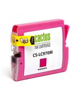 Картридж струйный Cactus CS-LC970M для Brother MFC-260c/ 235c, DCP-150c/ 135c, пурпурный, 20 мл.