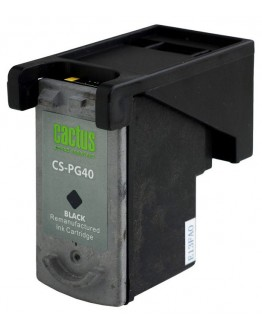 Картридж струйный Cactus CS-PG40 для Canon Pixma MP150/ MP160/ MP170/ MP180/ MP210/ MP220/ MP450/ MP460