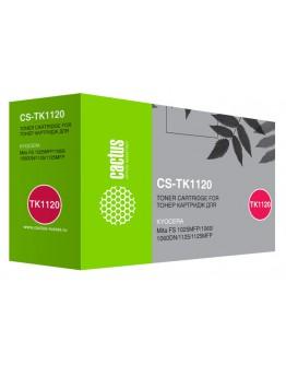 Картридж лазерный Cactus CS-TK1120 черный (3000стр.) для Kyocera FS 1025MFP/1060/1060DN/1125/1125MFP