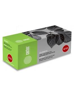 Картридж лазерный Cactus CS-MX610 60F5H0E черный (10000стр.) для Lexmark MX510de/511de/511dte/511dhe/610de/611de