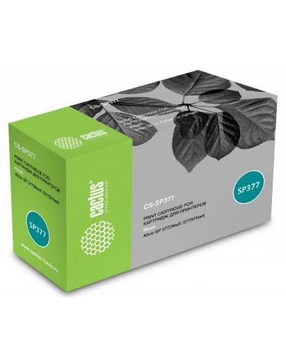 Картридж лазерный Cactus CS-SP377 черный (6400стр.) для Ricoh Aficio SP 377DNwX/377SFNwX