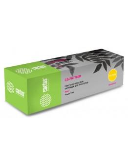 Картридж лазерный Cactus CS-PH7760Y пурпурный (25000стр.) для Xerox Phaser 7760/7760dn/7760dx/7760dxf