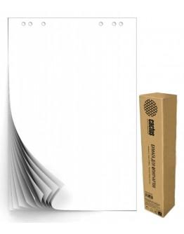 Блок бумаги для флипчартов Cactus CS-PFC20W-5 белый 20лист. (упак.:5шт)