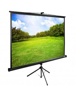 Экран Cactus 150x200см TriExpert CS-PSTE-200x150-BK 4:3 напольный рулонный черный