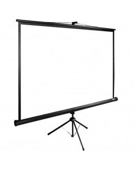 Экран Cactus 165x220см TriExpert CS-PSTE-220x165-BK 4:3 напольный рулонный черный
