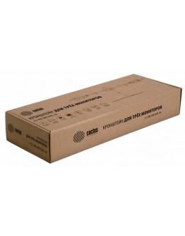 """Кронштейн для мониторов Cactus CS-VM-MP330S-AL серебристый 15""""-24"""" макс.8кг настольный наклон"""